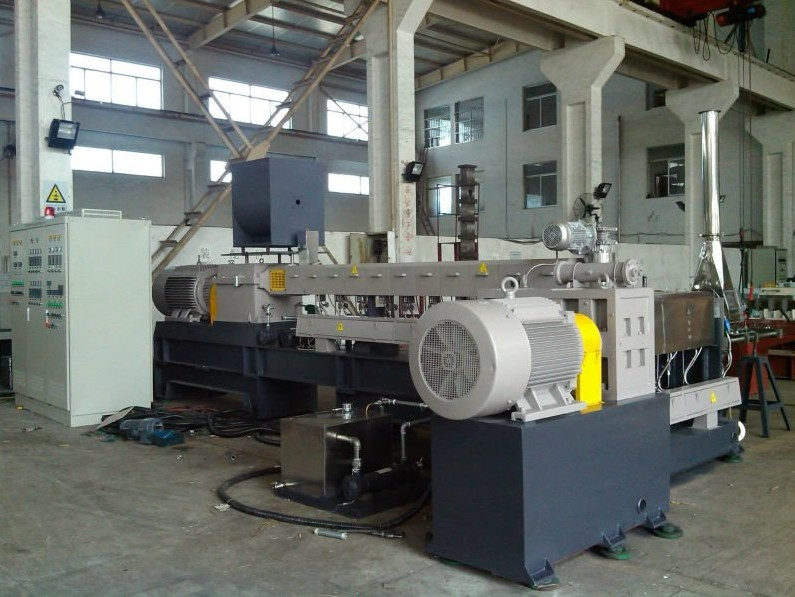 under water pelletizing machine 40HT twin screw extrusion line for high torque